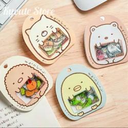 Sticker Sumikko Gurashi Jepang Lucu Scrapbook DIY Bujo Kawaii Journal - Biru Muda