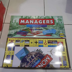 Monopoly World Edition Managers fast dealing property trading Game