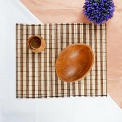Kohang | alas meja makan tatakan piring gelas 45x35 cm murah natural