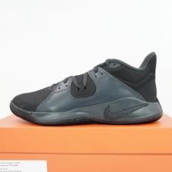 Sepatu Basket Nike Flyby Mid Black Metallic Gold CD0189-004 Original