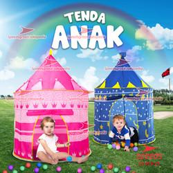 Tenda Anak Bermain Model Castle Kids Camping indoor SPEEDS 018-23 - Pink