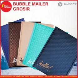 AMPLOP BUBBLE MURAH   BUBBLE MAILER   BUBBLE PACKING BANYAK VARIAN - DARK BLUE, 12CM X 18CM