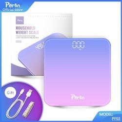 Perfin PF02 timbangan badan digital Body Scale dengan indikator - Ungu