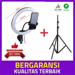 Jos! Ring Light Beauty shoot 26 CM + lightstand 200cm + phone holder