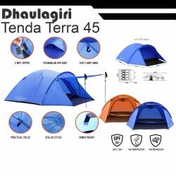TENDA DHAULAGIRI TERRA 45 CAMPING GUNUNG 4-5 person