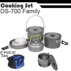COOKING SET DS700 BIG SIZE nesting panci teko kettle