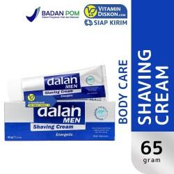 DALAN MEN SHAVING CREAM ENERGETIC BPOM-65gr