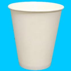 Paper cup 8oz 50pcs Gelas Kertas Kopi Murah Tipis Tahan Panas 240ml - Polos