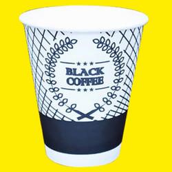 Paper cup 8oz 50pcs Gelas Kertas Kopi Murah Tahan Panas 240ml Jakarta - Black Coffee