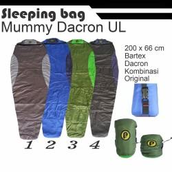 sleeping bag dacron palava adv kantung tidur tipe : SBUL001