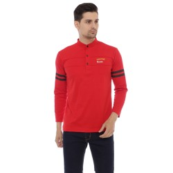 HIPSTER (t-shirt) kaos lengan panjang warna merah