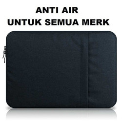 Premium R2 Tas Laptop 14-15 Inch / Softcase Macbook Asus HP Lenovo All - 14-15INCH HITAM