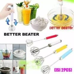 Beater Better is 2 pcs Manual Mixer Kocokan Telur Telor 2pcs Cetakan - 2 Pcs