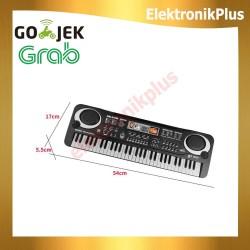 Mainan Anak Piano Digital Keyboard Elektronik 61 Kunci Plus Microphone