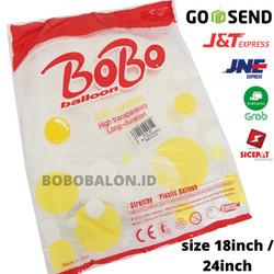 Balon Bobo / Balon PVC / Balon Plastik uk. 24 inch - 24inch