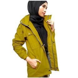 Jaket Wanita Maunakea Parka ukuran M - L - XL - Kuning