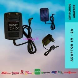 Switching Adaptor Kodok -Switching Power Supply Plastik 6V 2A