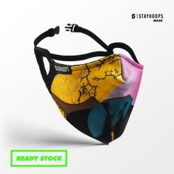 Stayhoops - Masker Fullprint 2 Layer - Non Medis - Cactoid
