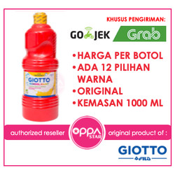 Cat Poster Giotto School Paint 1000 ml - Grosir