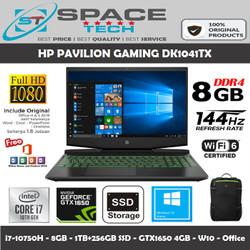 HP PAVILION GAMING 15 DK1041TX i7-10750H 8GB 1TB+256GB SSD GTX1650 4GB