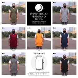 ROSAL HOODIE - Rompi Pakaian Sholat Solat Baju Koko Gamis Pakistan