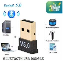 Bluetooth V5.0 Adapter USB Dongle