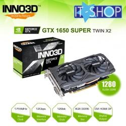 VGA INNO3D 4GB GTX 1650 Super Twin X2