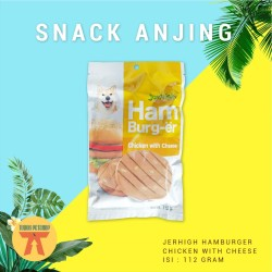 SNACK Anjing JERHIGH HAMBURGER COLLECTION 112 GRAM - MAKANAN RINGAN