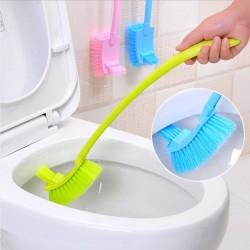 Sikat Kloset Toilet / Sikat WC Unik / Sikat Kamar Mandi Panjang - X450 - Biru Muda