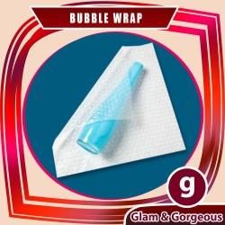 Bubble Wrap untuk pengemasan pembelian di glamgorgeous.