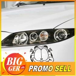 Sticker/BIGGER Stiker Garfield Depan Mobil