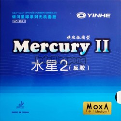 Yinhe Mercury II Medium (max) ~ Rubber Karet