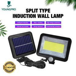 GARANSI 12 BULAN! YOUNGPRO YSF-100 3 MODE LAMPU SOLAR 100 LED + PANEL