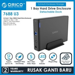 ORICO 7688U3 3.5 inch USB3.0 External Hard Drive Enclosure