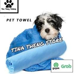 "Handuk Anjing Kucing ""KANEBO BOTOL BESAR "" Pet Towel Handuk Grooming"