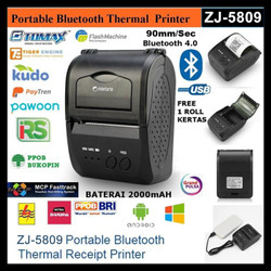IWARE ZJ-5809 MINI PORTABLE BLUETOOTH THERMAL PRINTER PPOB/KASIR 58MM