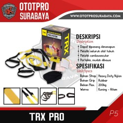 TRX P4 Pro Kit Suspension Training /Gym/Fitness/P3/Profesional/Alat