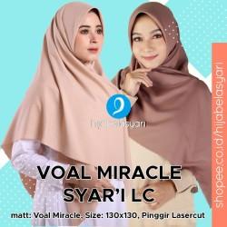 Hijab Segi Empat Lasercut Jilbab segiempat Voal Laser cut Syari