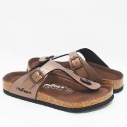 Sandal MyFeet F1 Metallic & Shining