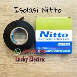 """Isolasi NITTO / Isolasi Kabel Listrik NITTO PVC 3/4"""" 25M"""