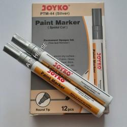 Spidol Paint Permanent Marker Silver JOYKO PTM44/Spidol Cat Silver