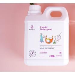 Pureco liquid detergent 900ml refill size / sabun cuci baju bayi