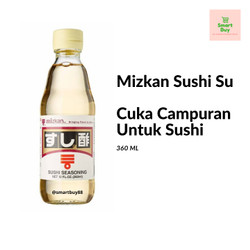 Mizkan Sushi Su - Cuka Campuran Untuk Sushi 360ml