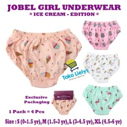 Jobel Girl's Underwear - Ice Cream Edition