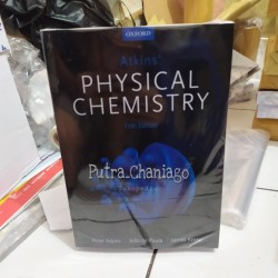 Buku Atkins Physical Chemistry 11th Eleventh Edition By Peter Atkins