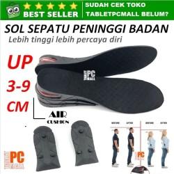 Sol Sepatu Penambah Tinggi Badan Air Cushion Insole Adjustable Height