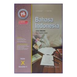 Buku PR Bahasa Indonesia 10 SMA Semester 2 Terbaru Intan Pariwara