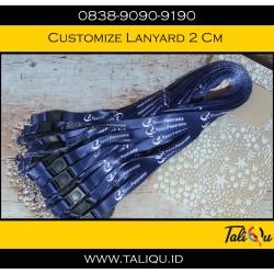 tali id card / lanyard promosi ( print )