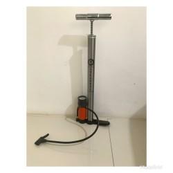 Pompa meter stainless untuk ban sepeda/motor/ mobil/bola tabung