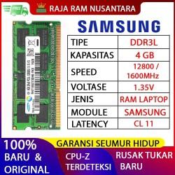 [BARU] RAM / MEMORY SAMSUNG NOTEBOOK / LAPTOP DDR3L 4GB
